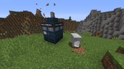 Fully Working Minecraft Tardis 2.0 Minecraft Map & Project