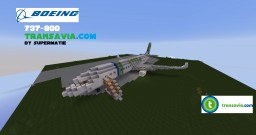Boeing 737-800 Transavia.com+ DOWNLOAD Minecraft