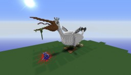 Giant Pelican!! Minecraft Map & Project