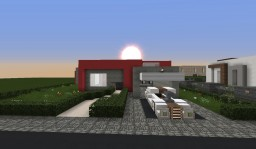 Red Clearence | Modern house Minecraft Map & Project