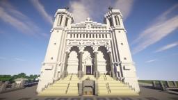 Basilique Notre Dame de Fourviere Minecraft Project