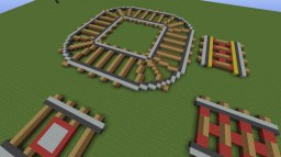 Giant Rails Minecraft Map & Project