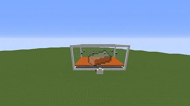 Iron Golem Farm Minecraft Project