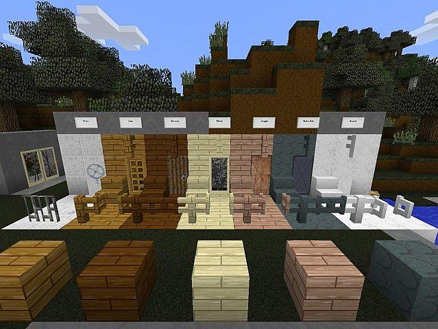 All new wooden doors, fencing, etc.