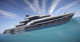 Atlantis Super-Yacht Minecraft