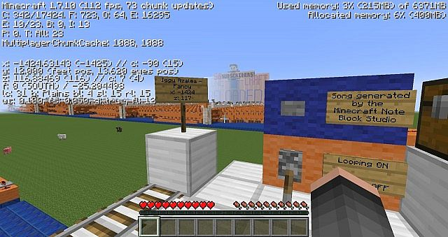 how to put note block studio songs into minecraft