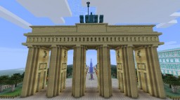 Brandenburg gate(Berlin) Minecraft Map & Project