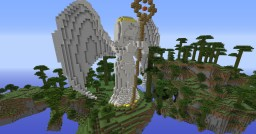 Angel in the Sky Minecraft Map & Project