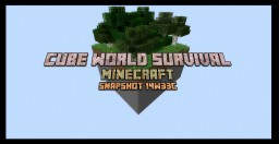Cube World Survival Re-Imagined Minecraft Map & Project