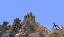 Castle Snow Minecraft