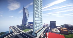 Servercon City - One of The Largest Cities in Minecraft - Download Minecraft Map & Project
