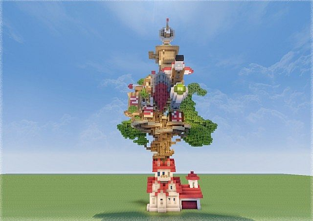 Knd Treehouse Minecraft Project