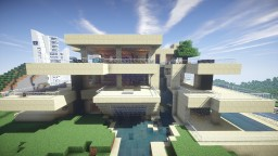 Modern House On The Hill #2 Minecraft Map & Project