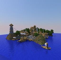 Medieval Port Minecraft