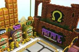Omega Realm Arcade Lobby [Sunfury] - Commission [1/2] Minecraft Map & Project