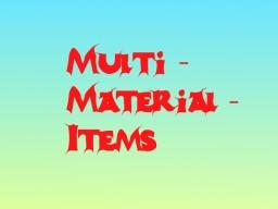 Multi-Material-Items [1.7.10] Minecraft