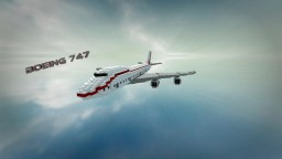 Boeing 747 Minecraft Project