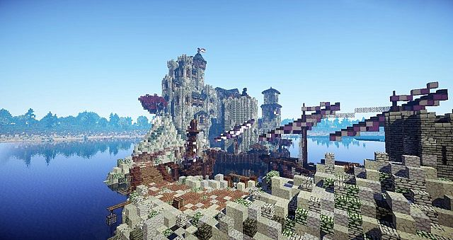 The docks of Seagard keep
