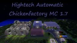 Hightech Automatic Chickenfactory MC 1.8 Minecraft Map & Project