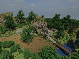 Medieval hamlet Minecraft Map & Project
