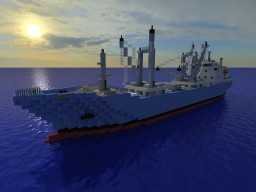Houta Maru [Cargo Ship][1:1 Scale Full Interior!] Minecraft