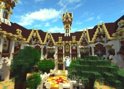 Fantasy medieval faction spawn Minecraft Map & Project