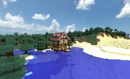 Fishermans House at the Lake - Kevinkools house Contest Entry Minecraft Map & Project