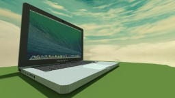 Huge MacBook Pro Minecraft
