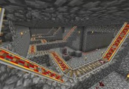 Minecart Ride With Traps Minecraft Project