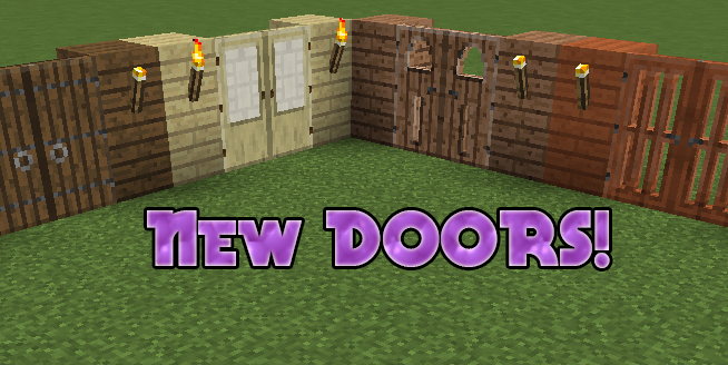 Minecraft Added Doors! & Minecraft Added Doors! Minecraft Blog