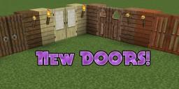 Minecraft Added Doors! Minecraft