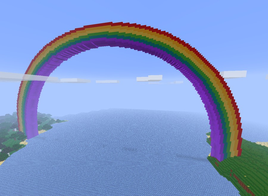 RainbowCraft [Pvp][Factions][Shops][Mcmmo][MobArena] Minecraft Server