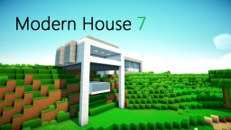 Minecraft: Modern House 7 Minecraft Map & Project
