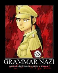 ~ξℵðεя~ Grammar Nazis - the good, the bad, and the ugly. Minecraft Blog