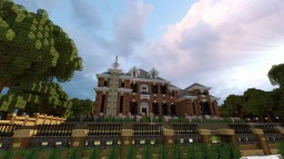 Adam's Federal Mansion Colab ft. TheEvilEnderman Minecraft Project