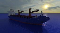 Ocean Atlas [Cargo Ship][1:1 Scale Full Interior] Minecraft