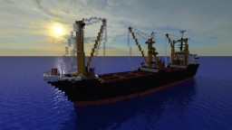 Orca K [1:1 Scale Cargo Ship][Full Interior] Minecraft