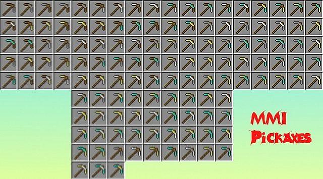 Multi Material Items Mod