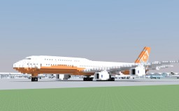 Boeing 747-8i (Sunrise) Minecraft