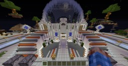 Futuristic spawn by mirelad1sco Minecraft