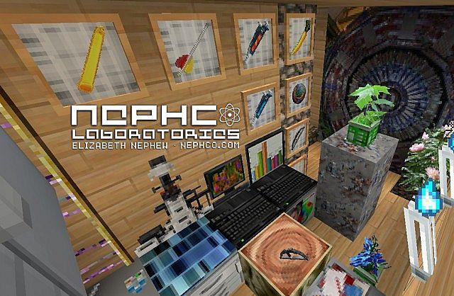 NephCOLaboratories Beta Glow Stick, Compound Bow, Animated Iron Ore...etc.