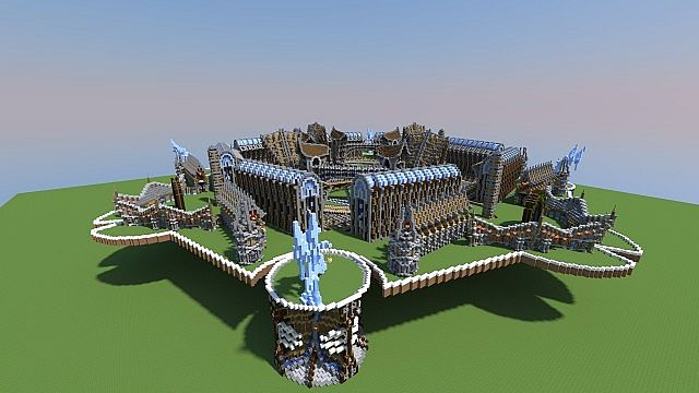 I have moved the whole spawn up 30 blocks