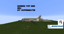 Boeing 737 BBJ Private Jet with Disco and bar + DOWNLOAD