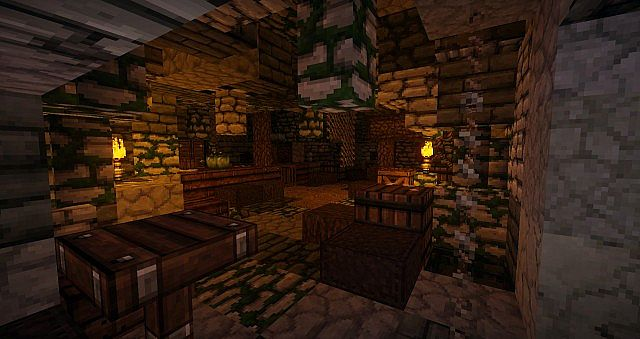 A smugglers cave