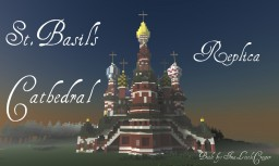 St.Basil's Cathedral Replica  |Contest entry| Third Place! Minecraft Map & Project