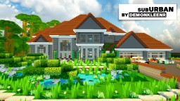 Suburban Mansion Minecraft Project