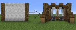 How to become a better builder: Basic depth and detail Minecraft