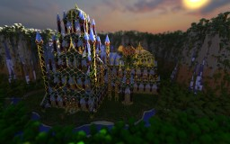 Titania's Autumn Palace Minecraft