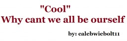"""""""Cool"""" - Cant we all be our self?[pop reel] Minecraft Blog Post"""