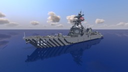USS Michael Murphy DDG-112 || 1:1 Scale Minecraft Map & Project